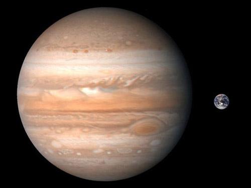 Größe Jupiter